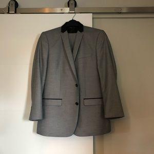 ZARA Men's Grey Suit NWOT
